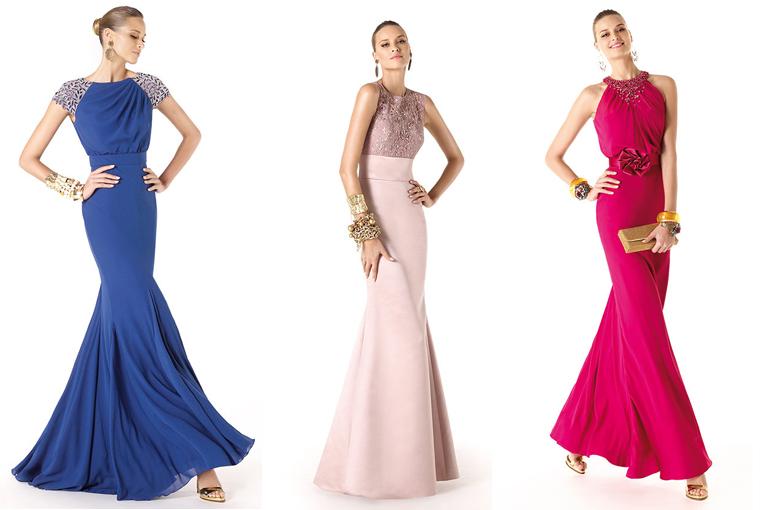 modelos da pré coleção de vestidos de festa pronovias 2014