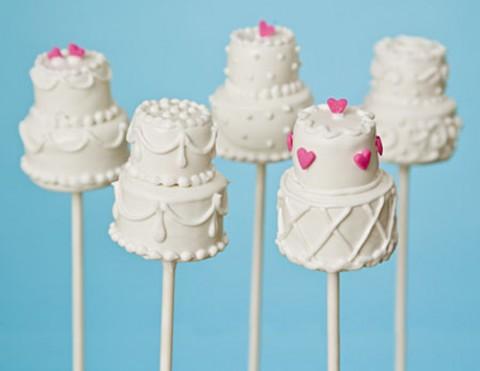 Cake pops em casamento for Cake pops cobertura