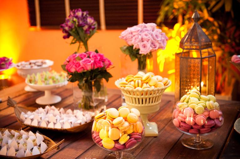 Macarons fazem sucesso como docinhos de casamento
