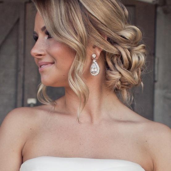 Penteados Para Noivas Com Cabelo Curto