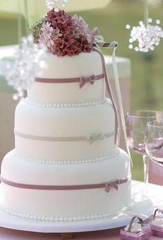 Como escolher o bolo do casamento