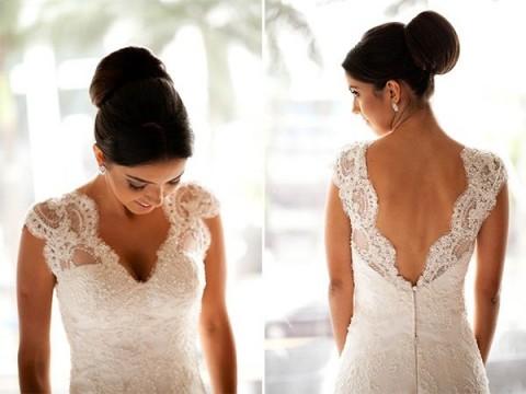Penteado para noivas: coque