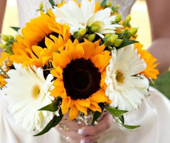 O significado das flores: buquê de noiva