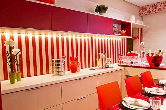 Espaços na Casa Cor decorados com móveis Todeschini